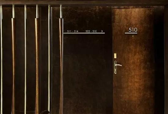 海华设计:别具匠心的酒店客房门牌